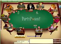 Party Poker Lobby